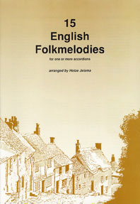 15 English Folkmelodies: Accordion: Instrumental Album