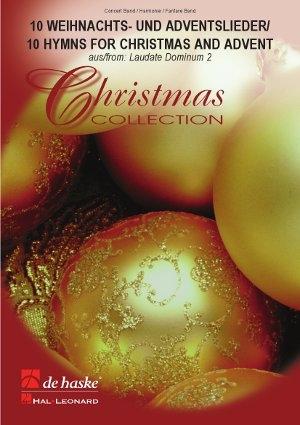 10 Weihnachts- und Adventslieder: Concert Band: Score
