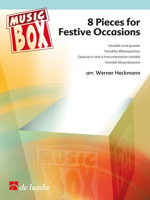 8 Pieces for Festive Occasions: Wind Ensemble: Score & Parts