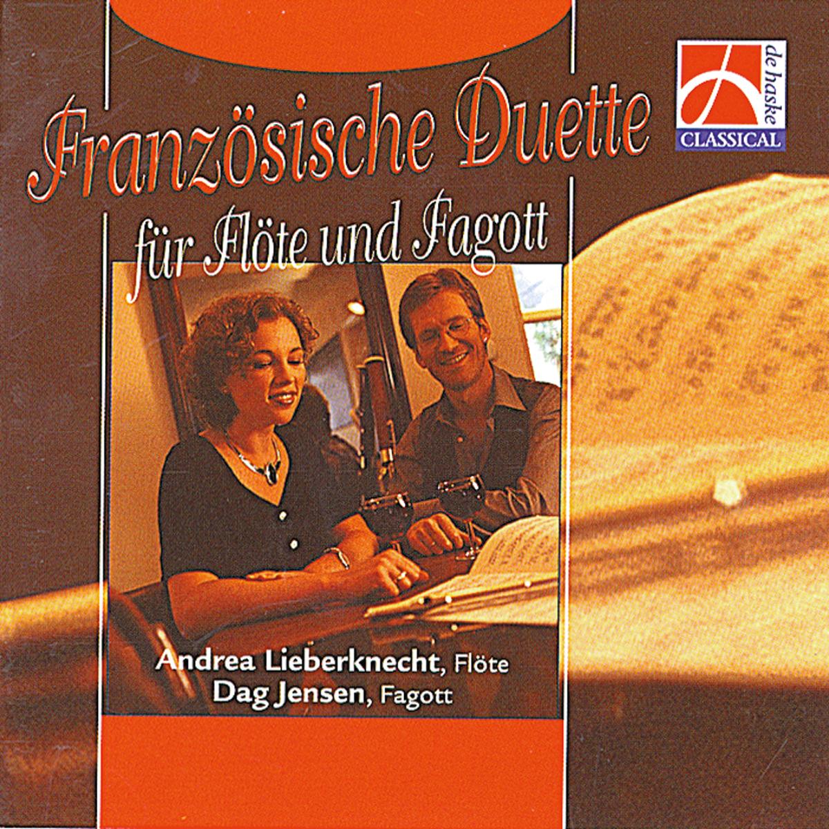 Andrea Lieberknecht-Jensen Dag Jensen: Französische Duette: Concert Band: CD