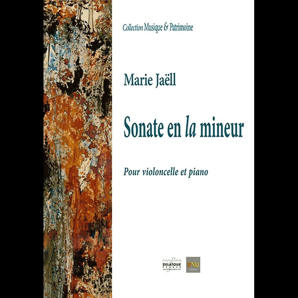 Marie Jaell: Sonate en La Mineur: Cello: Instrumental Work
