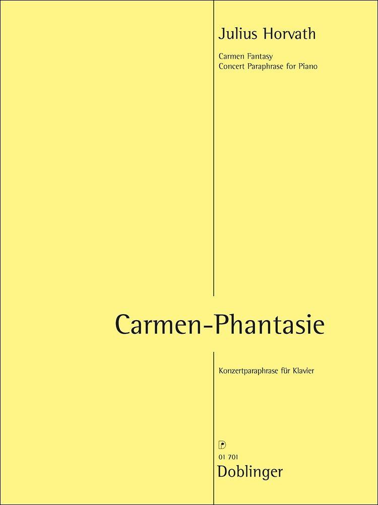 Julius Horvath: Carmen Phantasie: Piano: Instrumental Work