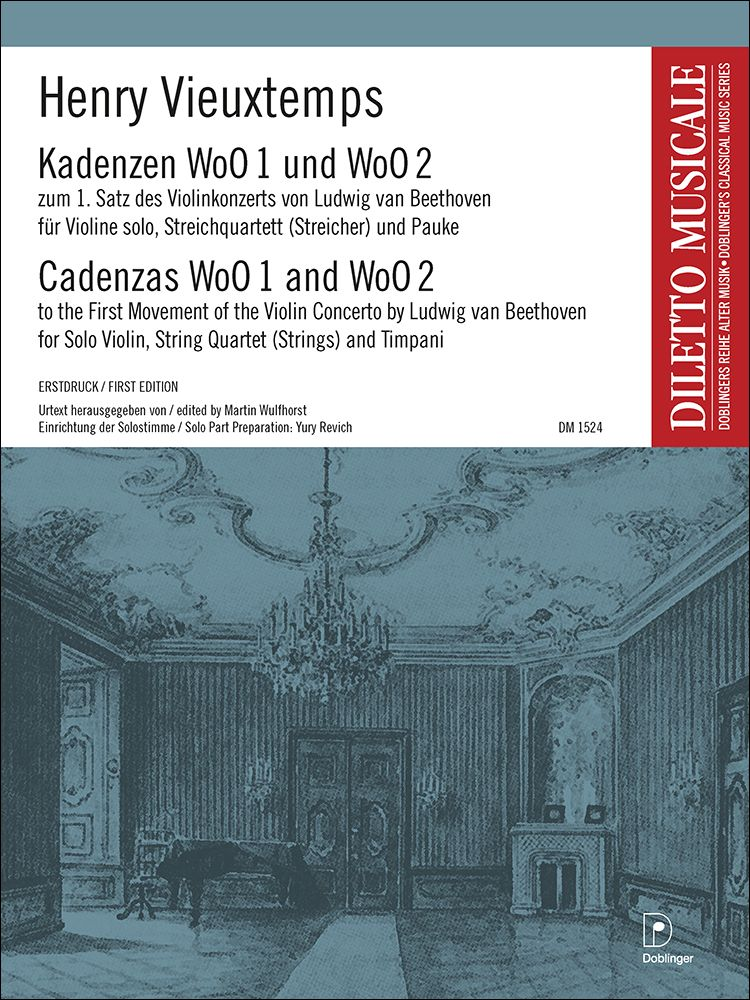 Henry Vieuxtemps: Kadenzen WoO 1 und WoO 2: Chamber Ensemble: Score & Parts