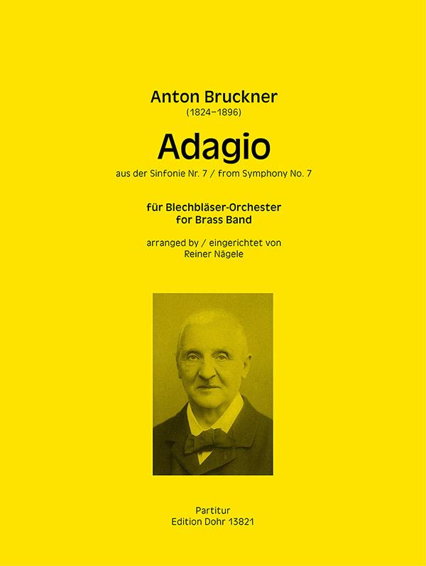 Anton Bruckner: Adagio aus der Sinfonie Nr. 7: Brass Band: Score