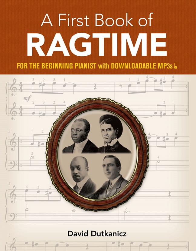 A First Book of Ragtime: Piano: Instrumental Album