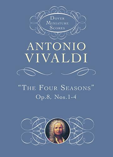 Antonio Vivaldi: The Four Seasons: Orchestra: Miniature Score
