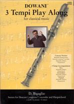 D. Bigaglia: Sonata for Descant (soprano) recorder: Descant Recorder:
