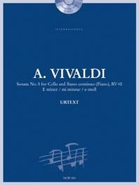 Antonio Vivaldi: Sonata No. 5 for Cello and Basso continuo (Piano): Cello