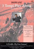 Antonio Vivaldi: Concerto for Violin Strings and BC Op. 8 No. 2: Violin