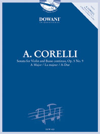 Arcangelo Corelli: Sonata in A-Dur Op. 5 No. 9: Violin