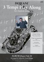 Album Vol. II for Alto Saxophone in Eb and Piano: Saxophone: Instrumental