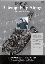 Album Vol. IV for Alto Saxophone in Eb and Piano: Saxophone: Instrumental