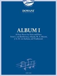 Album I for Viola and Piano: Viola