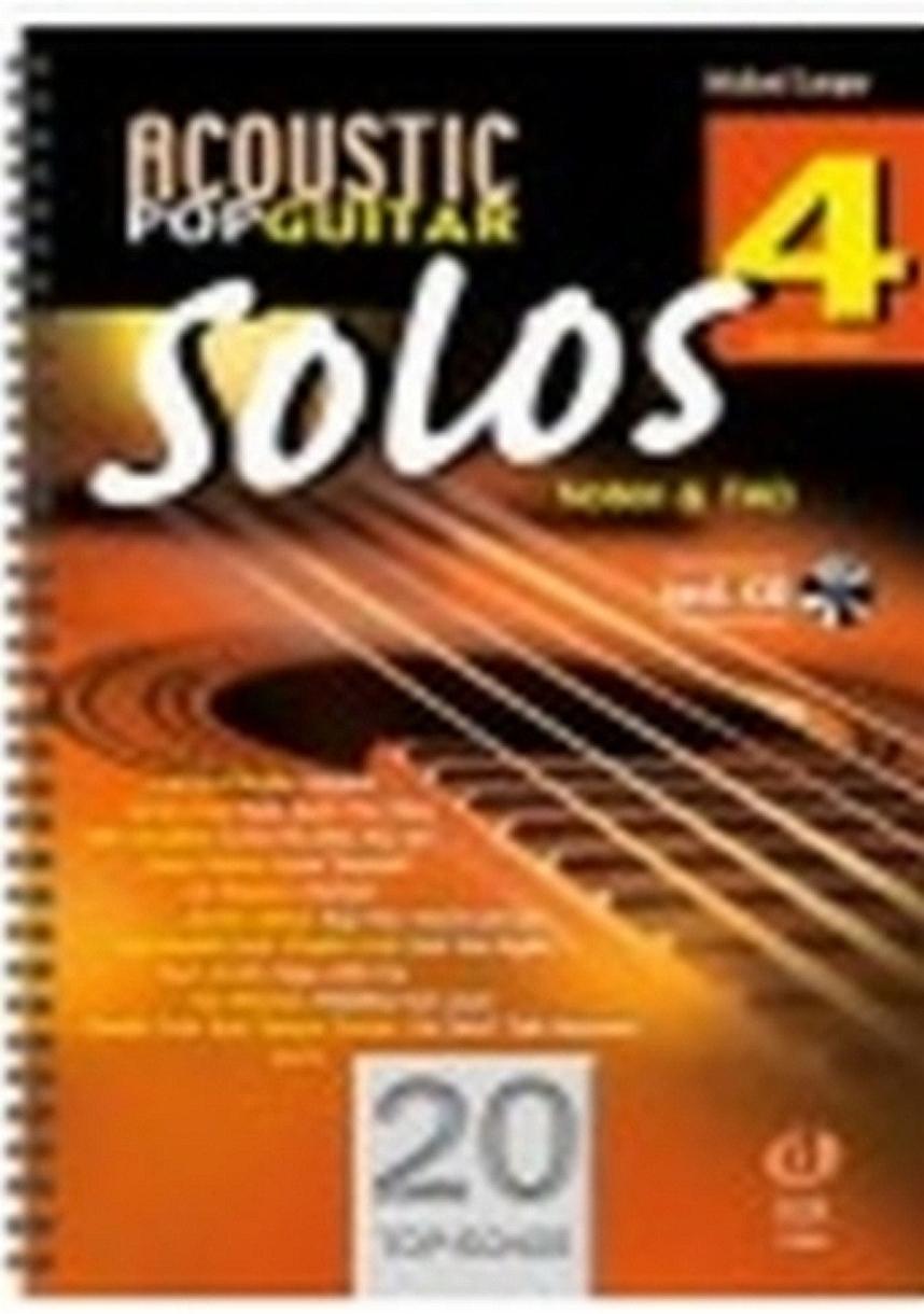 Michael Langer: Acoustic Pop Guitar Solos 4: Guitar: Instrumental Collection