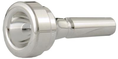 4B Cornet Mouthpiece Silver Plated: Mouthpiece