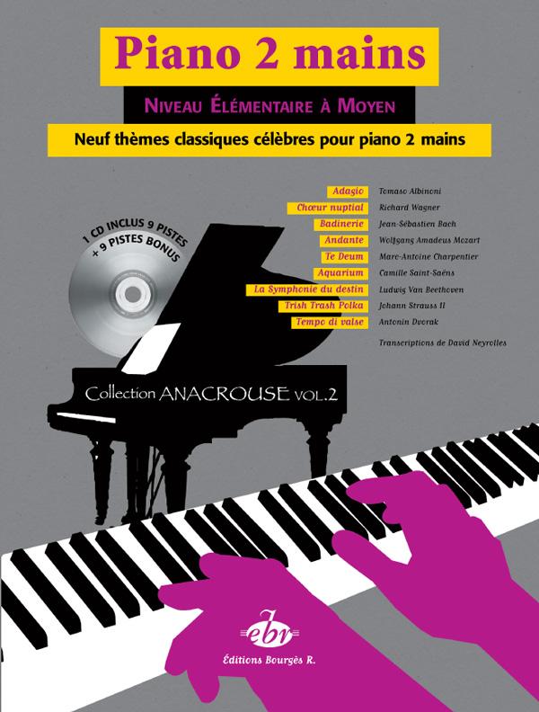 9 Thèmes classiques célèbres pour Piano Vol. 2: Piano: Mixed Songbook