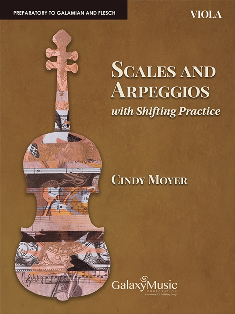 Cindy Moyer: Scales and Arpeggios with Shifting Practice: Viola: Viola: