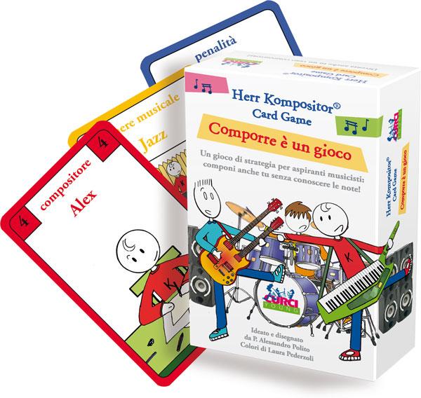 P. Alessandro Polito: Herr Kompositori - Card Game: Game
