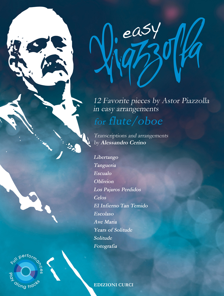 Astor Piazzolla: Easy Piazzolla for Flute/Oboe: Flute or Oboe: Instrumental