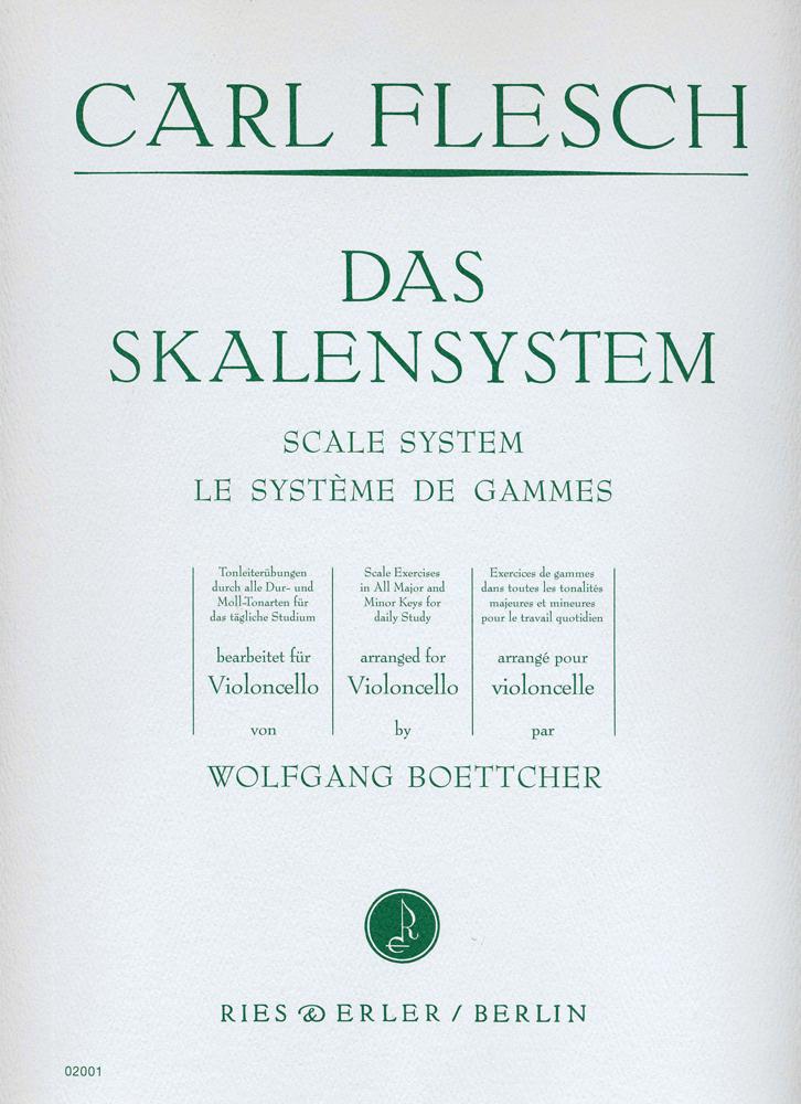 Carl Flesch: Sistema Delle Scale Per Violoncello: Cello