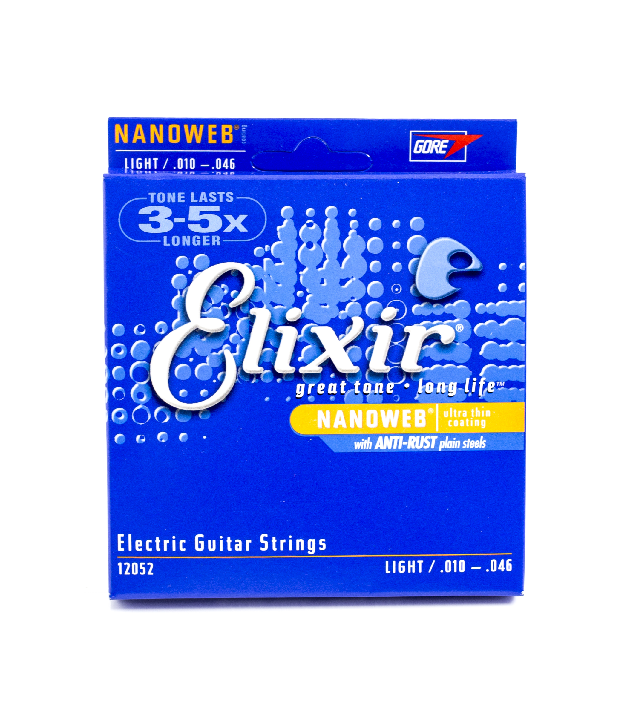 Nanoweb Electric Guitar Strings Reg Light 10-46: Strings