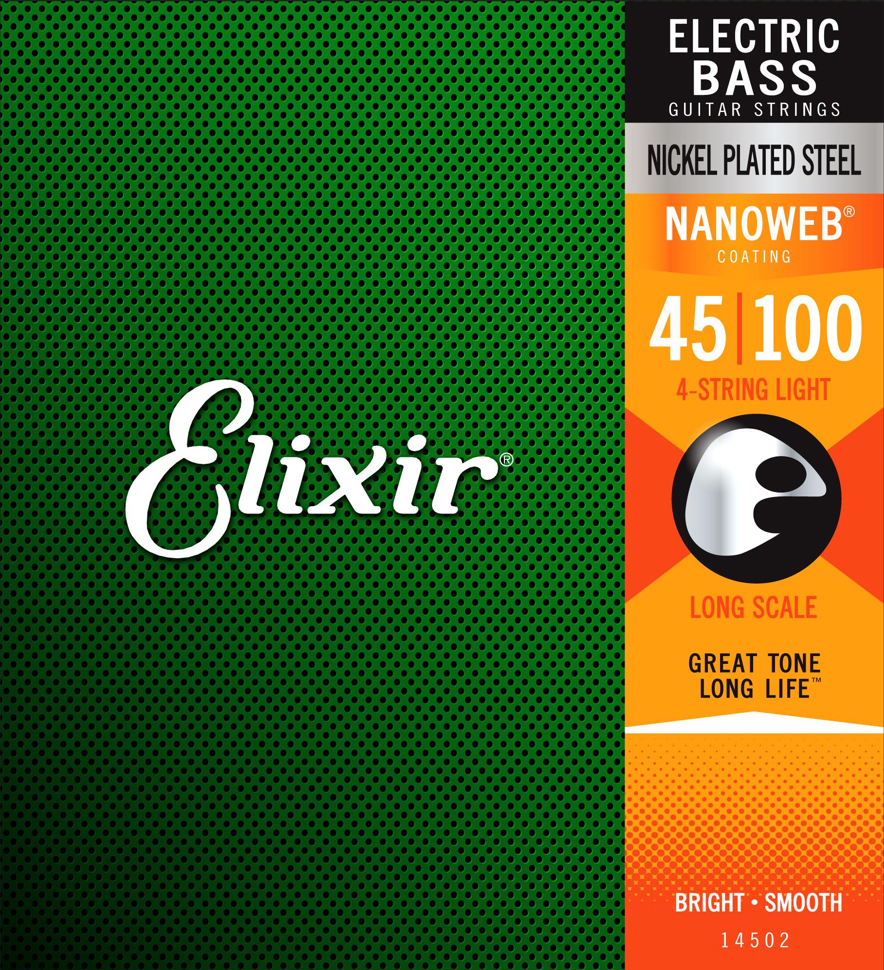 Bass Guitar Strings Set Light .045-.100: Strings