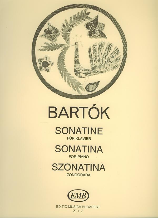 Béla Bartók: Sonatine: Piano: Instrumental Work