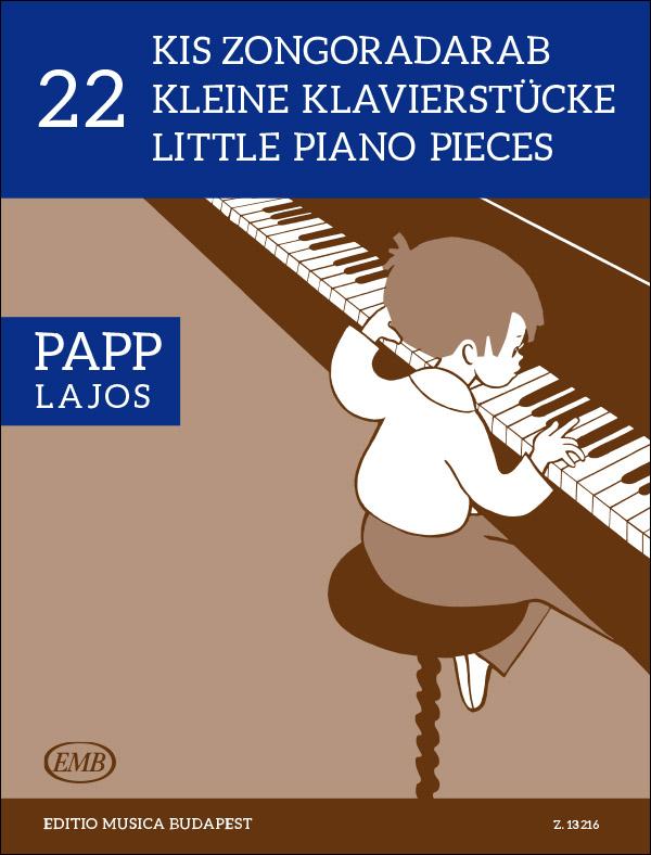 22Little Piano Pieces(Piano Solo)