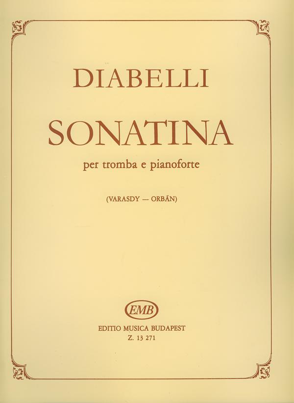 Anton Diabelli: Sonatina per tromba e pianoforte op. 151 No. 1: Trumpet: