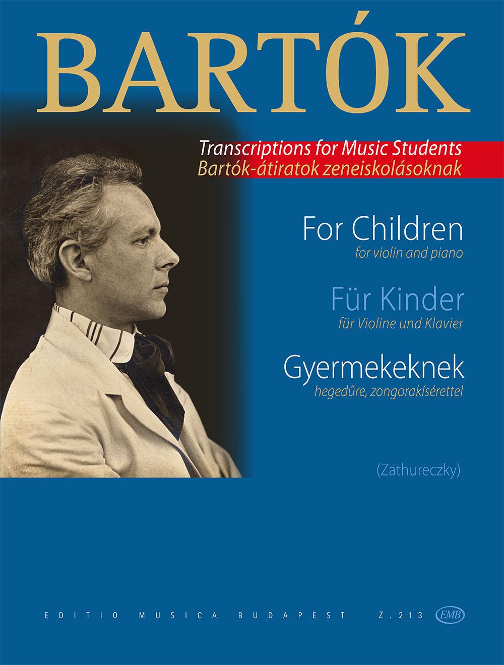 Béla Bartók: Pour Les Enfants - Volume 1: Violin: Instrumental Work