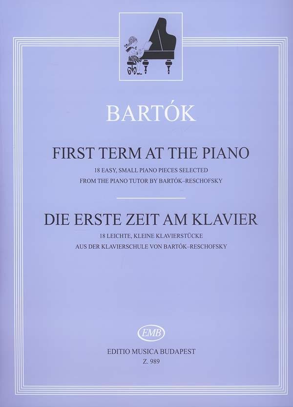Béla Bartók: First Term At The Piano: Piano: Instrumental Album