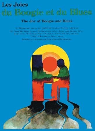 Les Joies Du Boogie Et Du Blues: Piano Vocal Guitar: Mixed Songbook