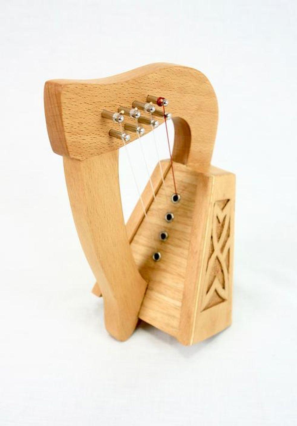 EMS 4 String Knee Harp: Knee Harp