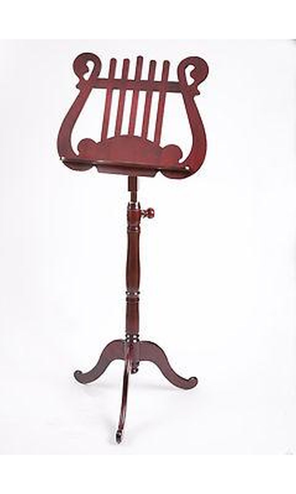 EMS Finale Music Stand Mahogany: Stand