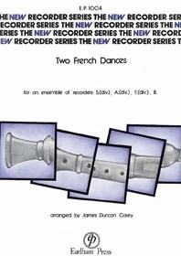 Traditional: Two French Dances: Recorder Ensemble: Score & Parts