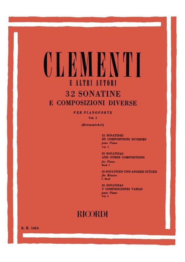 32 Sonatine E Composizioni Diverse: Piano