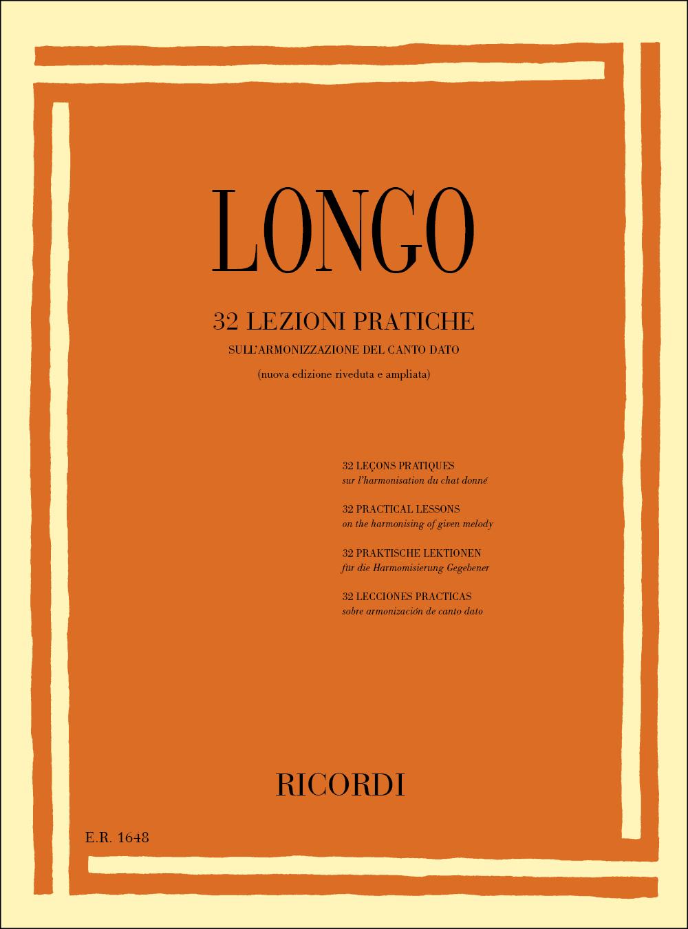 A. Longo: 32 Lezioni Pratiche Sull
