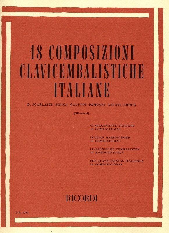 18 Composizioni Clavicembalistiche Italiane: Piano