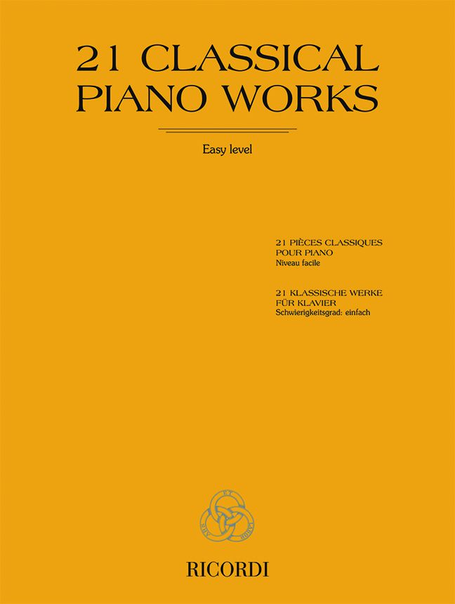 21 Classical Piano Works: Piano