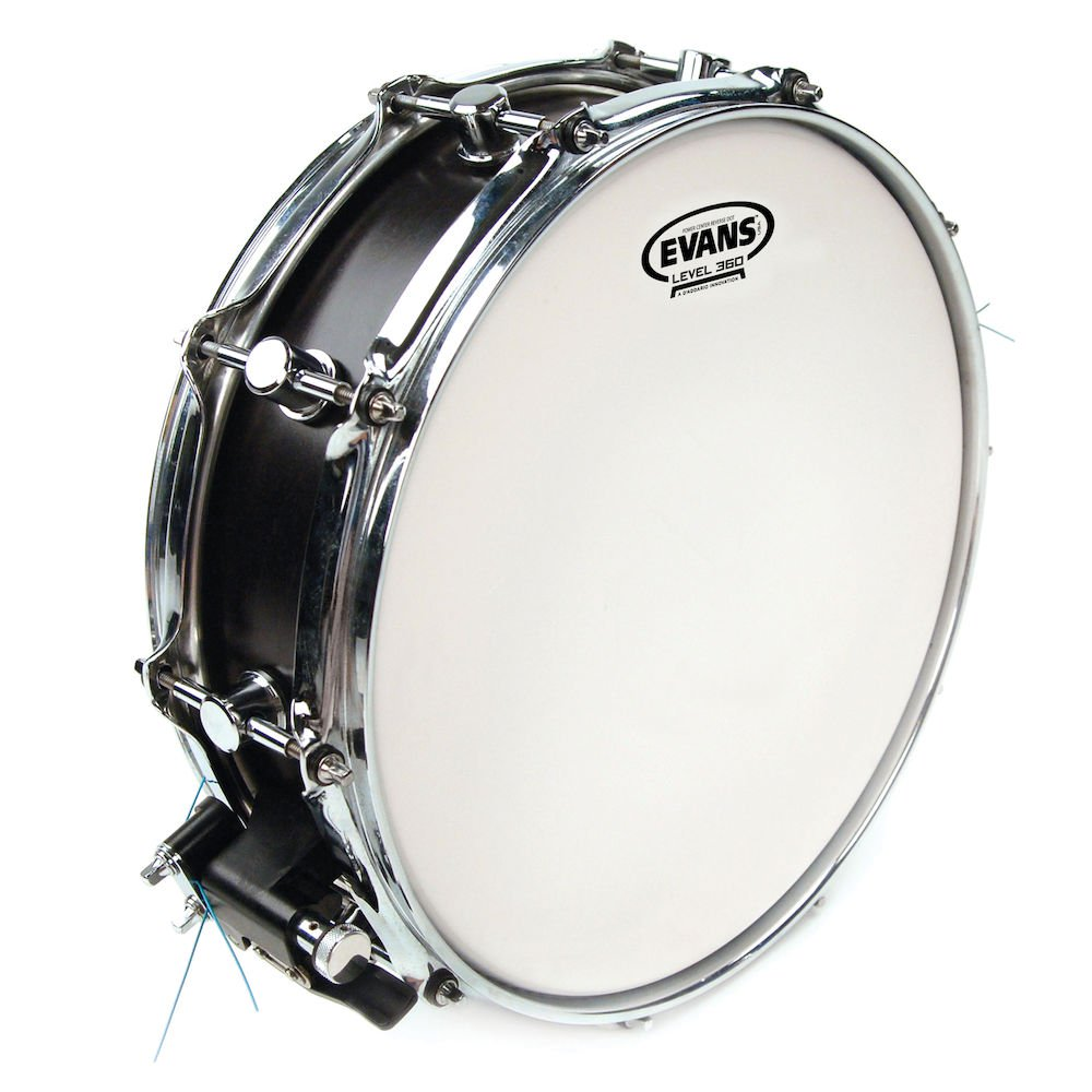 Click to view product details and reviews for 14 Inch Reverse Dot Power Centre Drum Head.