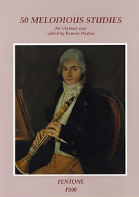 50 Melodious Studies: Clarinet: Study
