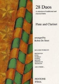 28 Duos: Flute & Clarinet: Instrumental Album