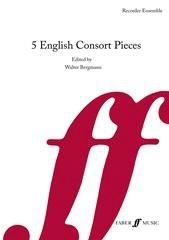 5 English Consort Pieces: Recorder Ensemble