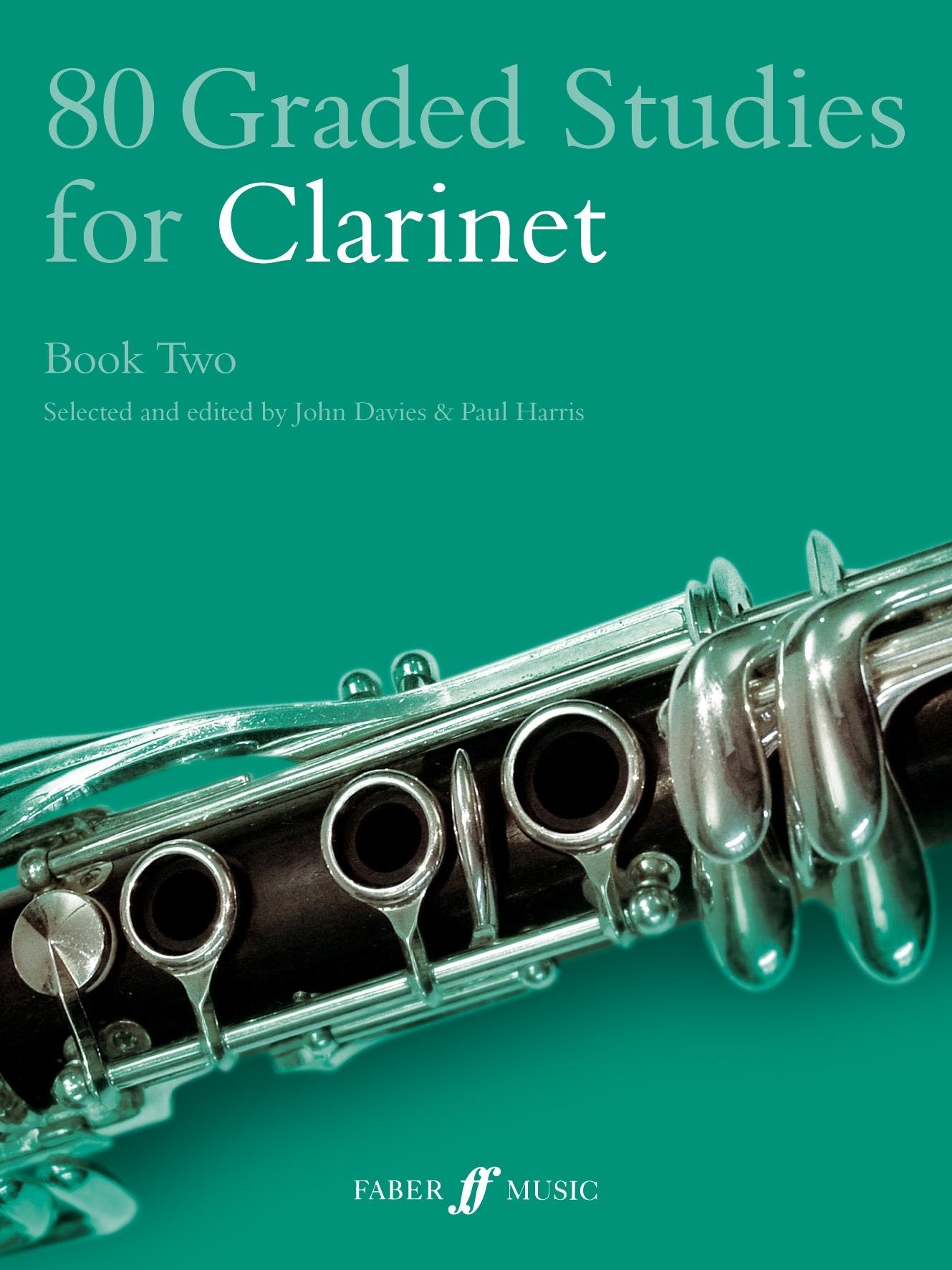 80 Graded Studies For Clarinet Book 2: Clarinet: Instrumental Album