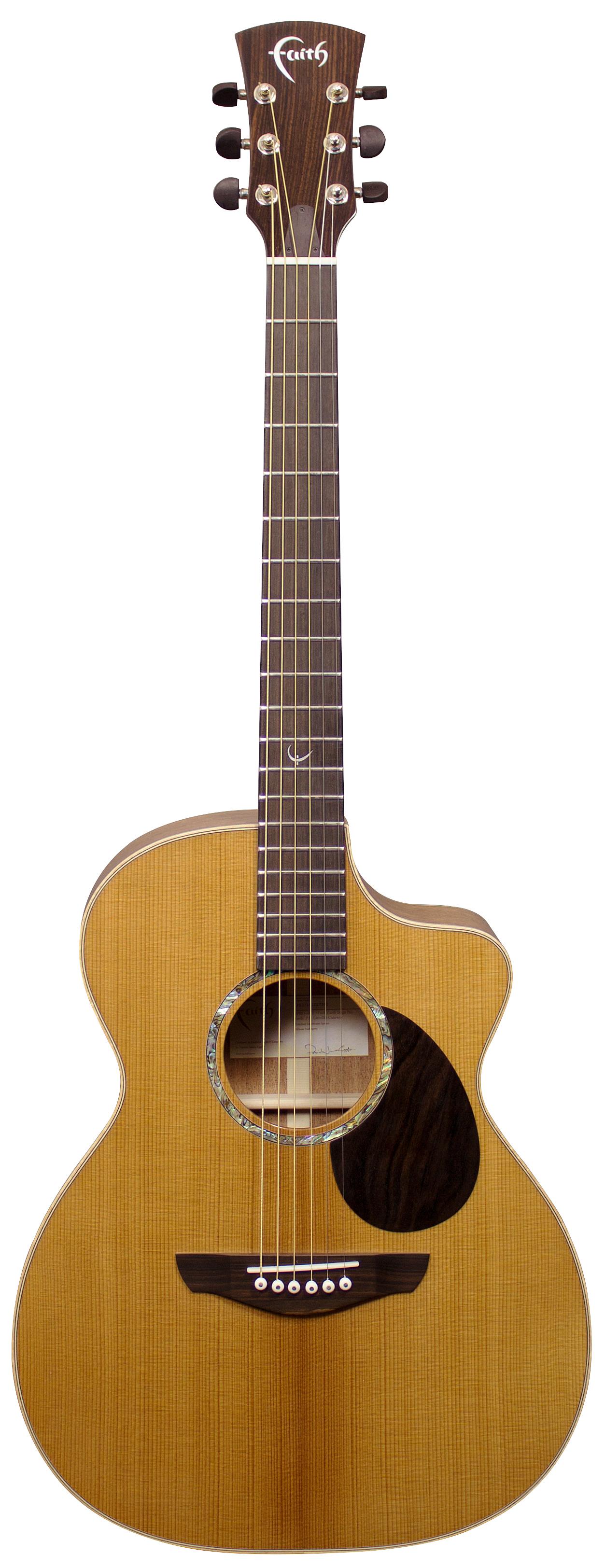 Legacy Earth Cutaway Electro Acoustic Guitar: Acoustic Guitar