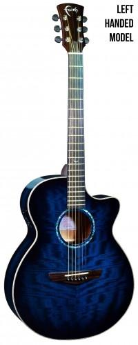 Blue Moon Venus Left Handed Electro Acoustic: Acoustic Guitar