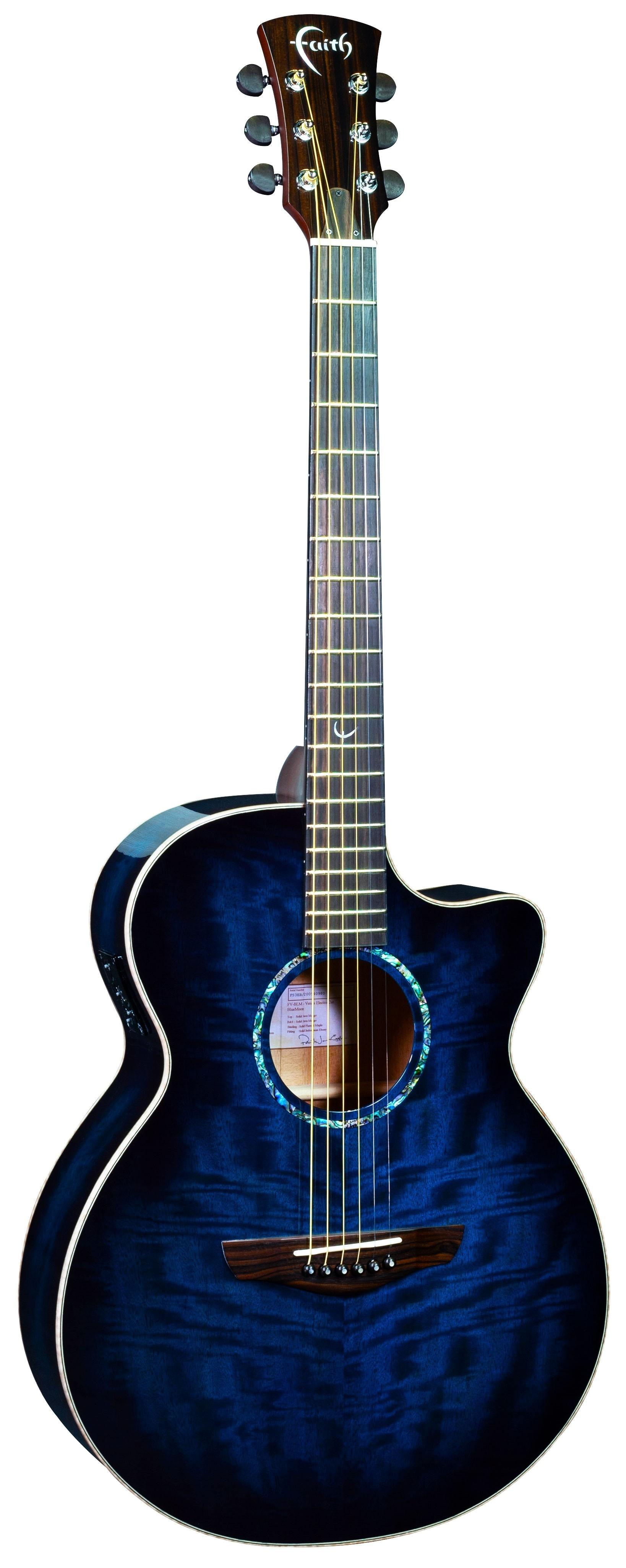 Blue Moon Venus Electro Acoustic Guitar: Acoustic Guitar