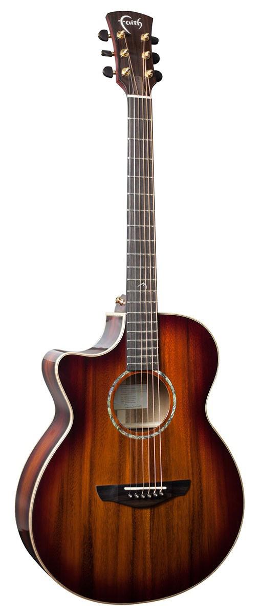Faith Blood Moon Venus CutAway: Acoustic Guitar