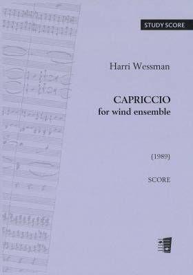 Harri Wessman: Capriccio For Wind Ensemble: Wind Ensemble: Score and Parts