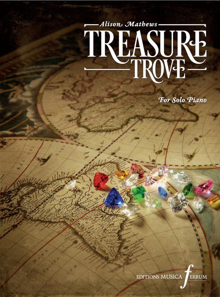 Alison Mathews: Treasure Trove: Piano: Instrumental Album